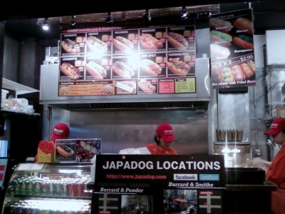 Japadogs on Robson Street