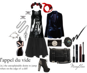 L'appel du vide by missyelsie featuring skull rings