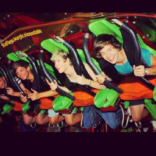 #onedirection @0ned1rection #6flags (Taken with Instagram)