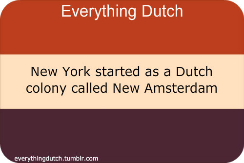 The Dutch influence on street and place names in New York is still evident today.