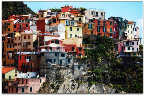 ysvoice:  | ♕ |  Colorful matchboxes - Manarola, Cinque Terre  | by © Noelle Smith