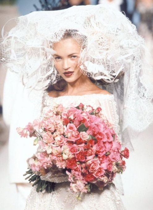 80s-90s-supermodels:  Vivienne Westwood S/S 1997Model : Kate Moss