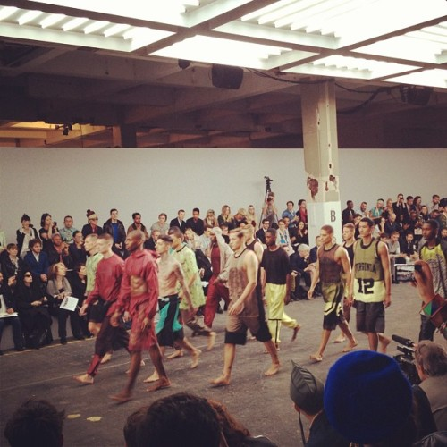 @samsonstudio finale @fashion_east #londoncollections  (Taken with Instagram)