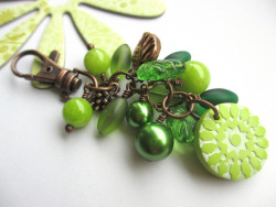 Lush Green Bag charm on Flickr.