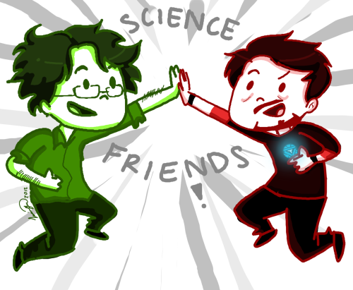 The Avengers - SCIENCE FRIENDS by ~ElenaKB