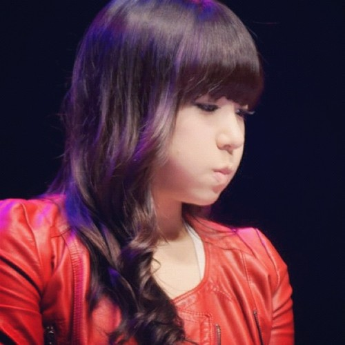 #snsd #GG #tiffany #cute #red (Taken with Instagram)