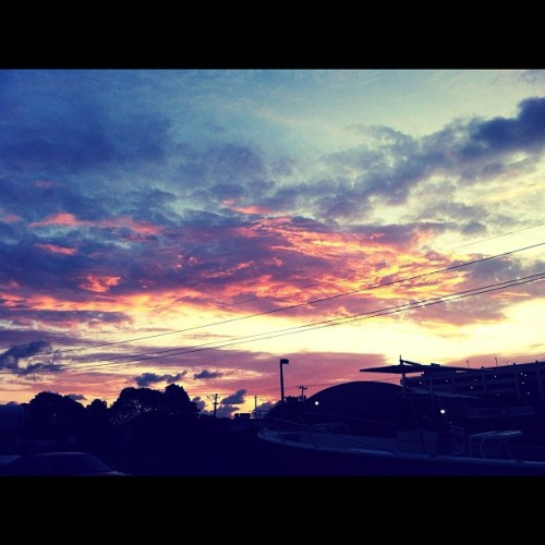Filtered, but caught it at the last fleeting moment.  (Taken...