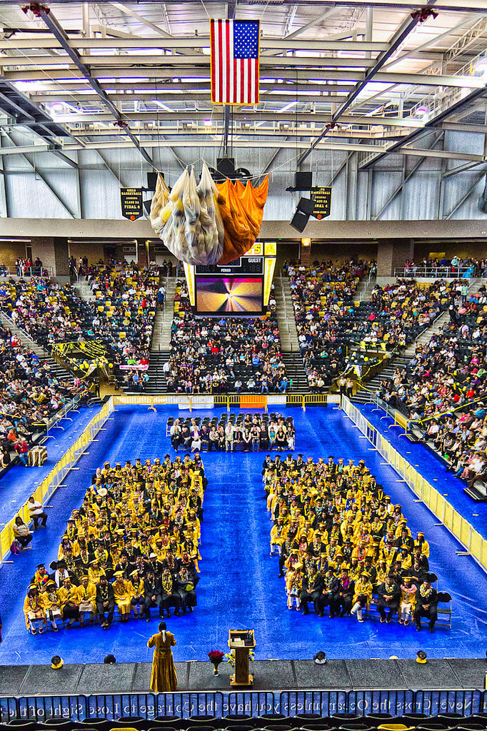 Chinle High School Graduation at the Wildcat Den // Class of 2012