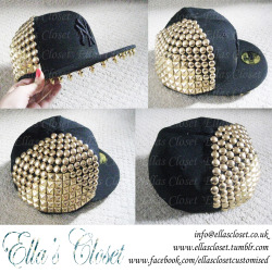 Cap customised by Ella's Closet for T-Ray from Cover Drive for Britain's Got More Talent performance. get something of yours customised at www.facebook.com/ellasclosetcustomised