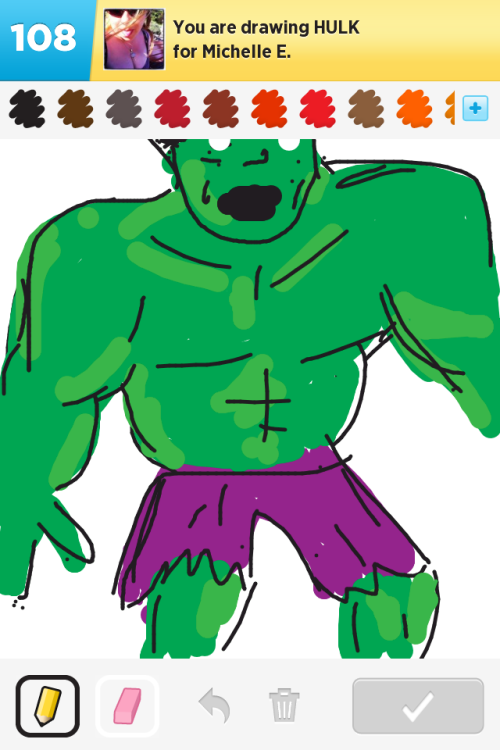 Hulk SMASH!  by spasmicpuppy: