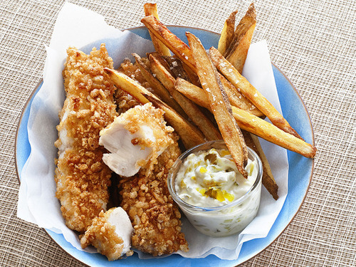 in-my-mouth:  Fish and Chips