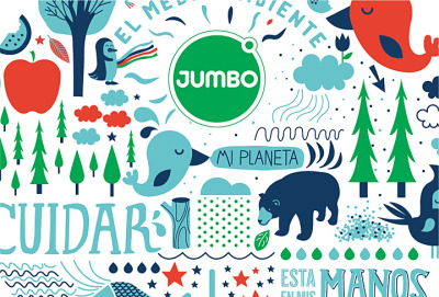 Jumbo Geobolsa by POGO Creative Co.
