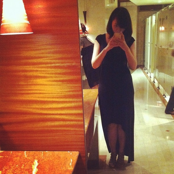 #ootd — night actually. #wedding #outfit #zara #fashion #style #formal #dress (Taken with Instagram)