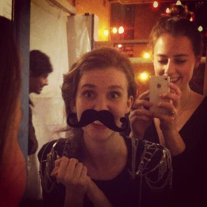 Put a mustache on it. (Photo by the lovely Georgina.)