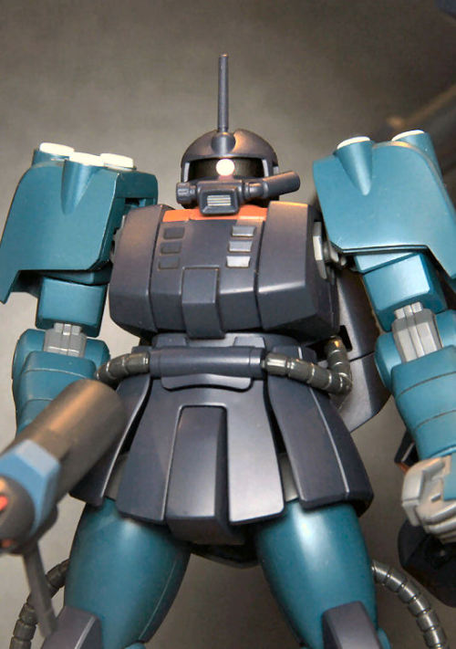 gunjap:  HGUC 1/144 RMS-192M Zaku Mariner: Assembled/Painted No.9 Big Size Images, Release in July