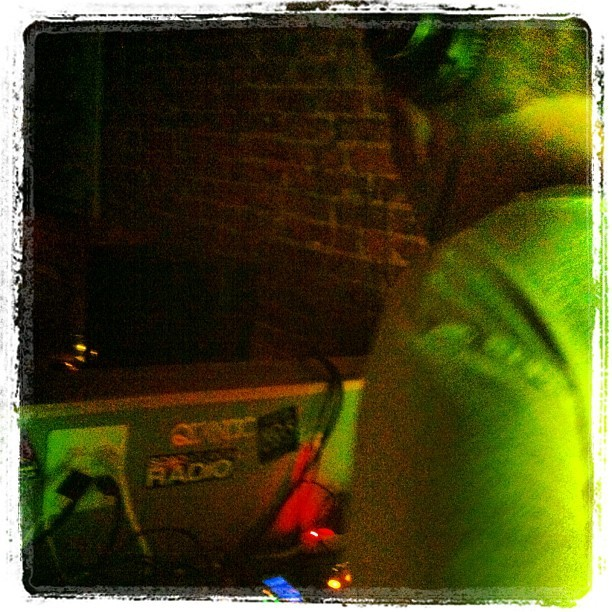 @warmartmusic on the decks (Taken with Instagram at The Sound Table)