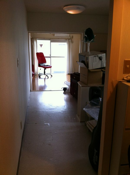 DC's current room… He's moving next week! Pic: http://lockerz.com/s/217530611