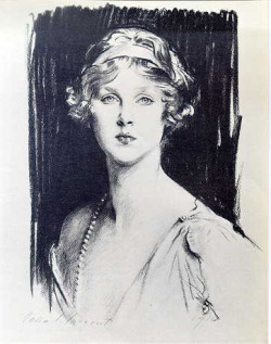 John Singer Sargent, Lady Diana Manners, 1910s on Flickr.
