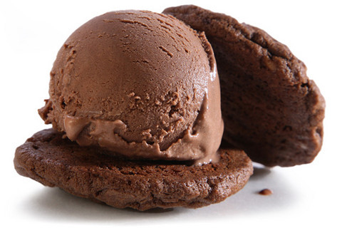 thecakebar:  Double Chocolate Fudgy Ice Cream Sandwiches