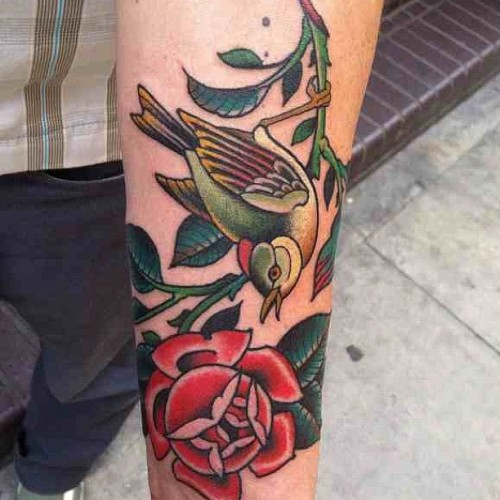 blackgardentattoo:  By Tutti Serra  gorgeous