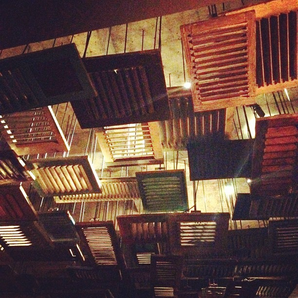 Such a cool bar. #bali  (Taken with Instagram at Potato Head Beach Club)