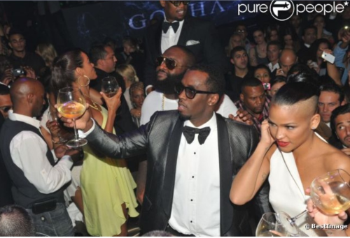 #toast #cannes Diddy #2012