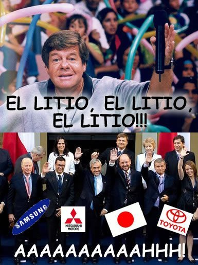 lasultimasmentiras:  El Litio El Litio El Litio!!!!!!!!
