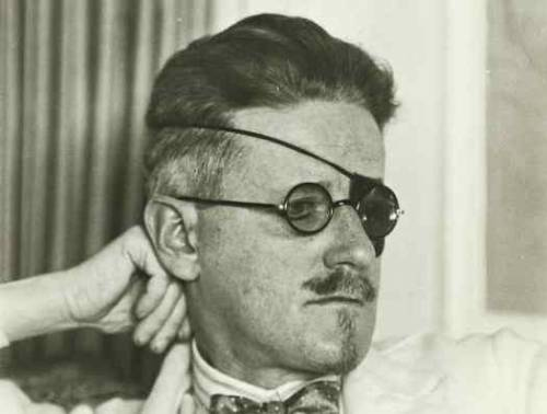 (via James Joyce | Superfluities Redux) Happy Bloomsday! James Joyce was such a style icon. He could have worn a monocle with that eyepatch but instead he just decided to go all out with the glasses.