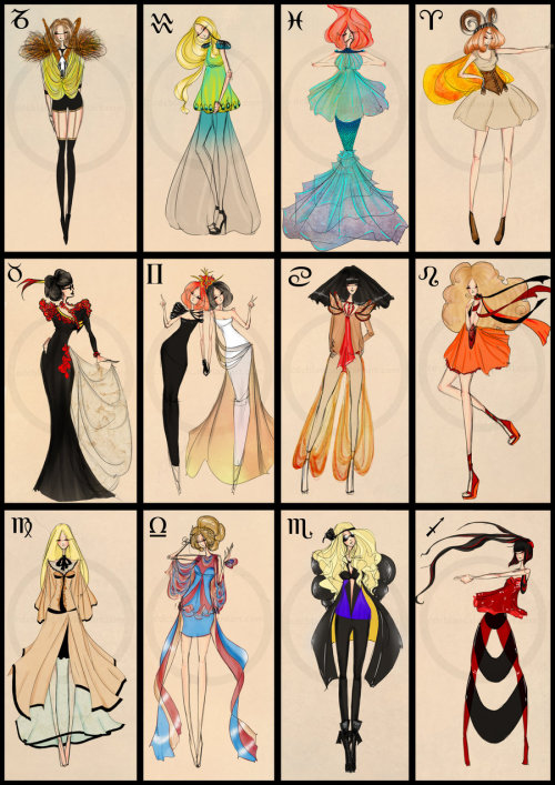 Zodiac Fashion by =CdCblanc
