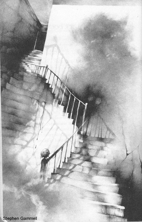 the-darkest-hallways:  [ Artist: Stephen Gammell. ]