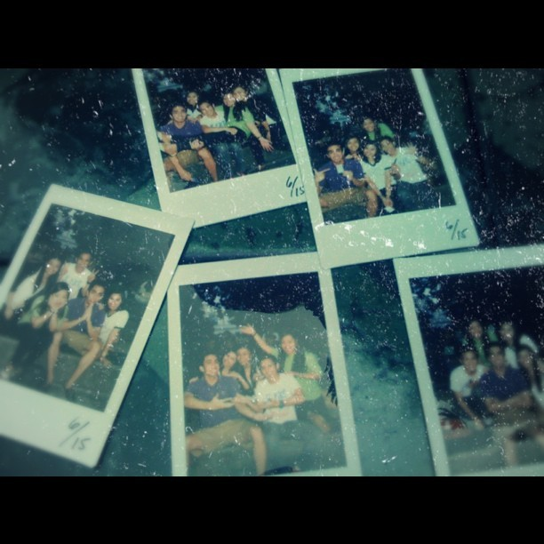 Birthday boys, Noe and me (Sai) #dlsu #polaroid #gemini  (Taken with Instagram)