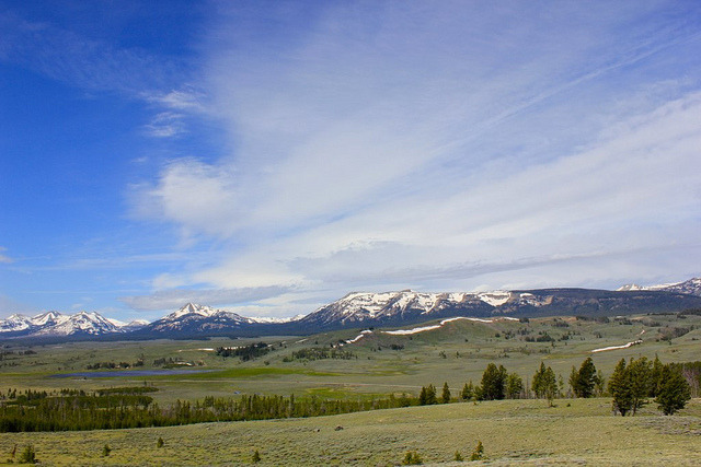 Gallatin Mountains on Flickr.