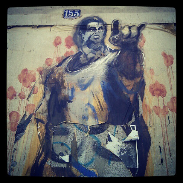 #streetart #graffiti #porto  (Taken with Instagram at Rua Mouzinho da Silveira)