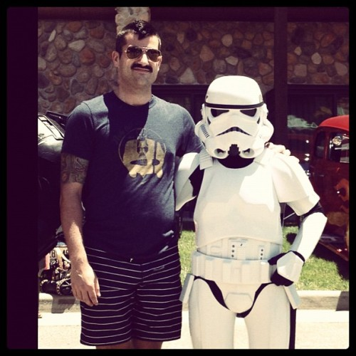 Aren't You A Little Short For A Stormtrooper? (Taken with Instagram at Great Wolf Lodge)