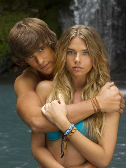 Breakout Aussie actors Indiana Evans and Brenton Thwaites chat about starring in Blue Lagoon: The Awakening. Learn more about the Lifetime movie remake here »