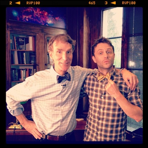 nerdist:  Bow ties are COOL. (Taken with Instagram)