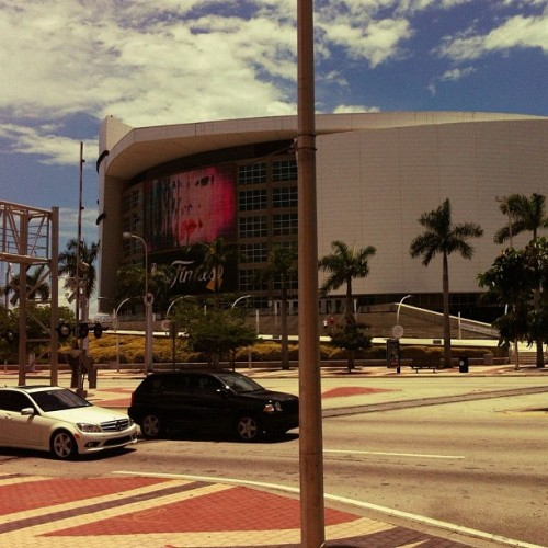@miamiheat All The Way Finals resumes tomorrow. (Taken with...