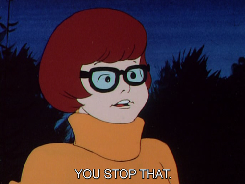 cyborglovesong:  Velma is having none of your vampire shit today.