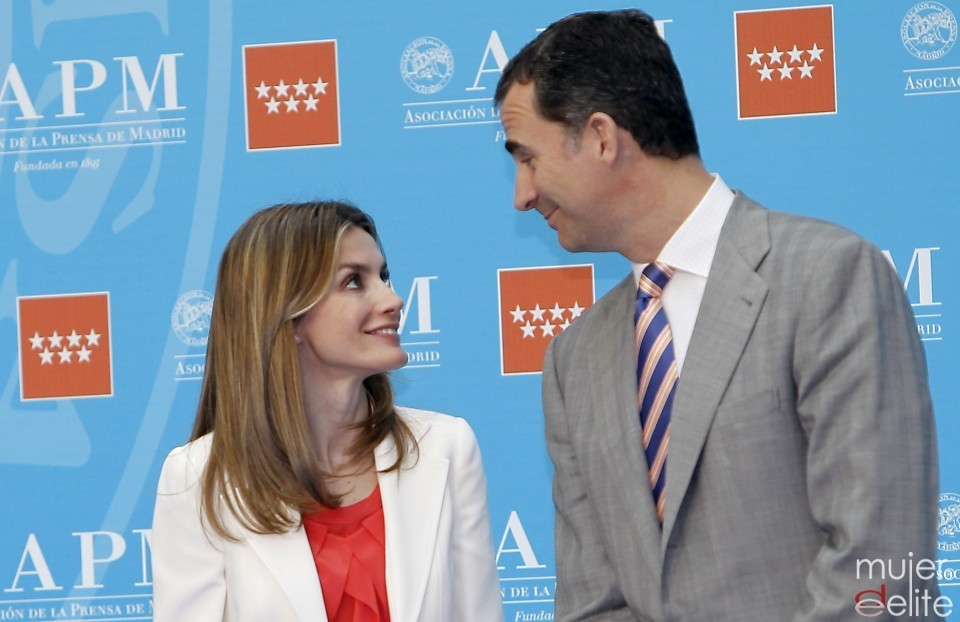 Felipe and Letizia, June 2012.