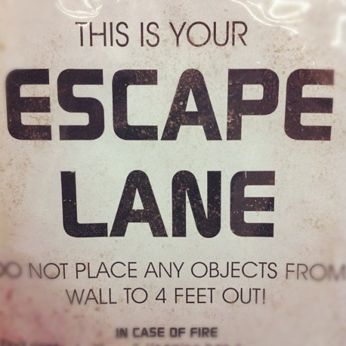 #escape (Taken with Instagram at Santa Clarita Studios)