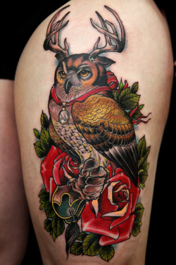 thievinggenius:  Tattoo done by Uncle Allen.