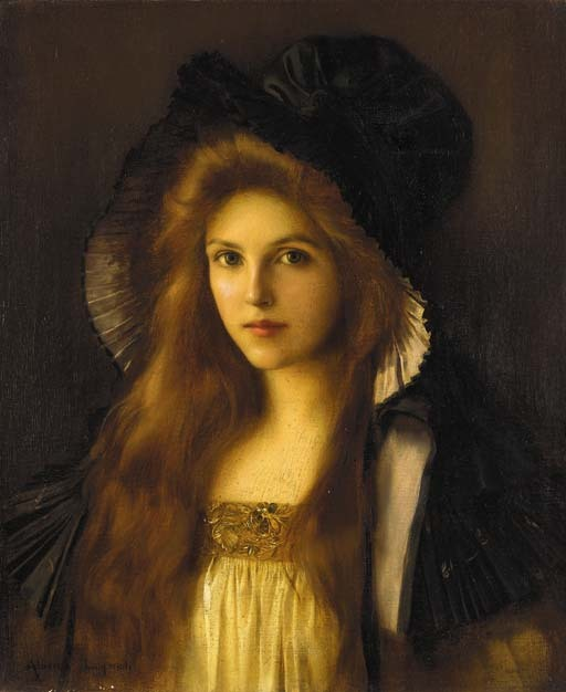Albert Lynch (1851-1912) Beautiful Betty