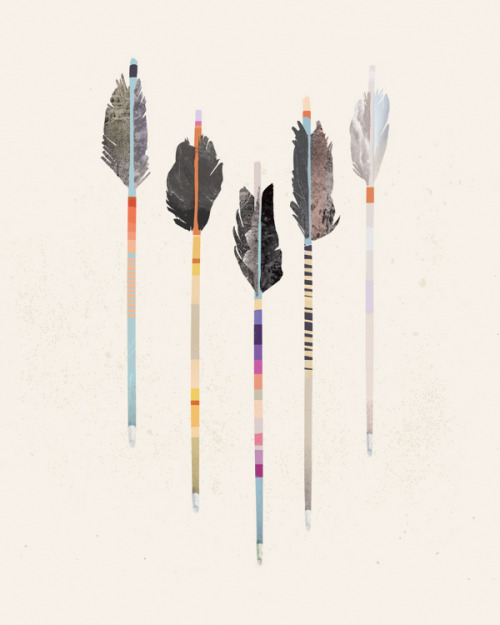 "companypants:  ""Arrows"" by Julia Kostreva"