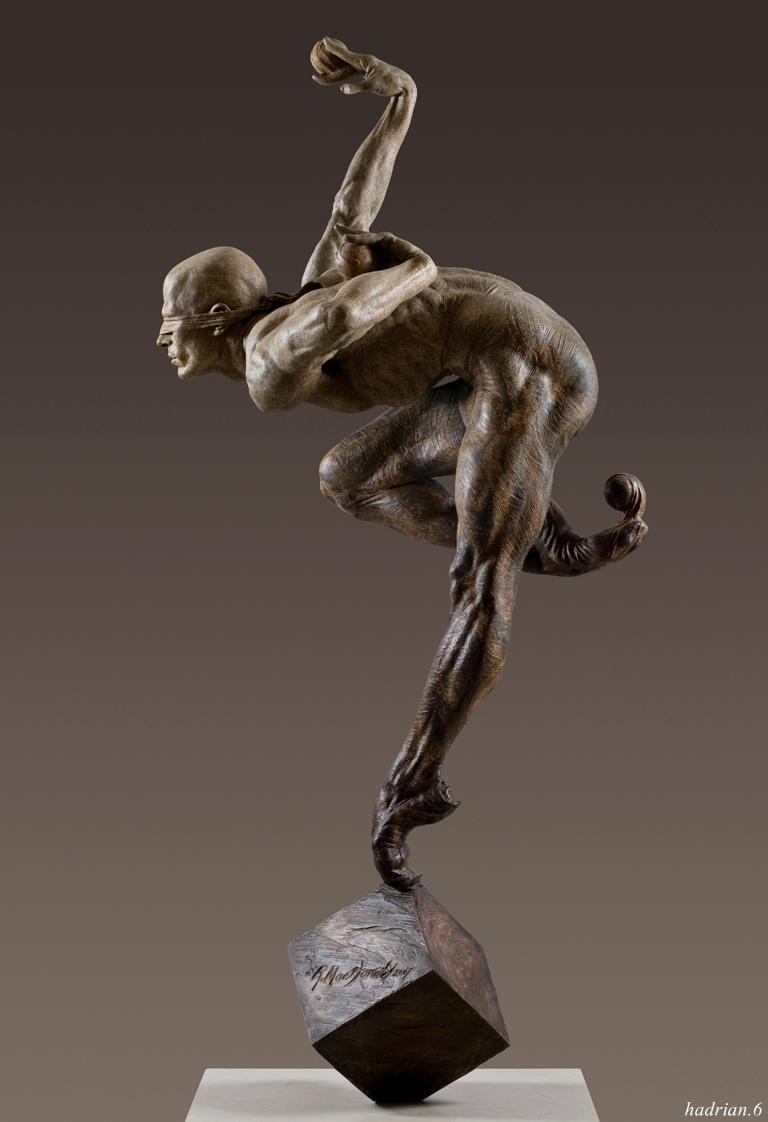 blind faith.  Richard MacDonald.     http://hadrian6.tumblr.com