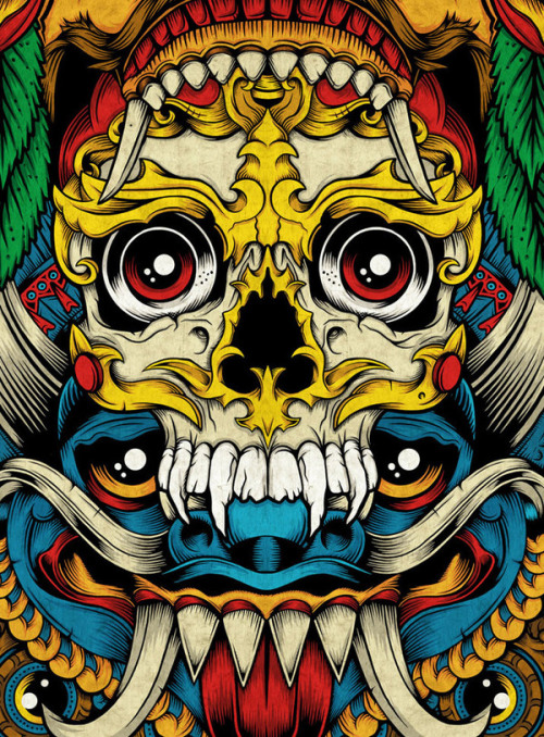 uvec:  Totem: 7-Skate Deck Artwork
