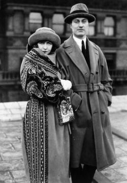 oldloves:  Dorothy Gish & James Rennie