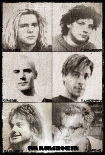 Young Rammstein. So sweet!!! ;)