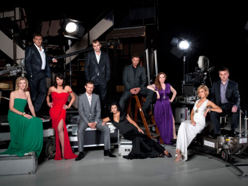 Some of Corrie's cast! One of the best!