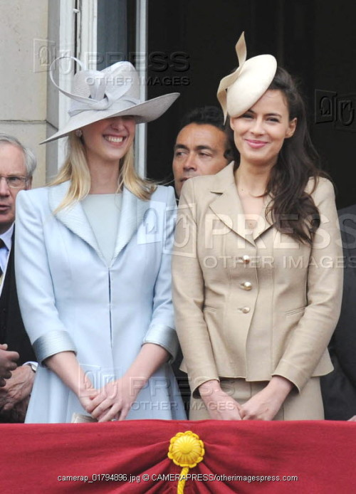 Lady Gabriella Windsor and Sophie Winkleman