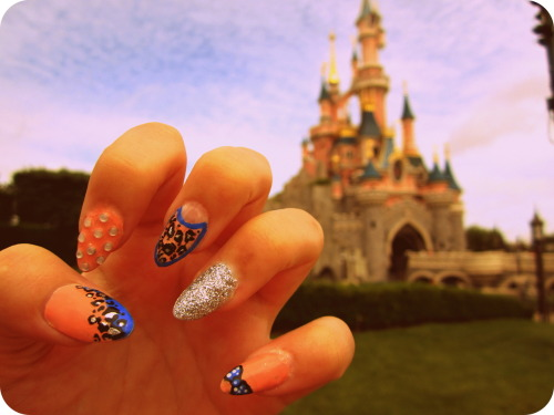 Latest nails at Disneyland Paris :)